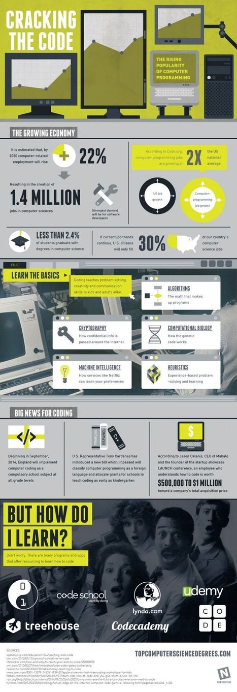 Computer Programming on the Rise [Infographic] | I LOVE SCOOP | Scoop.it