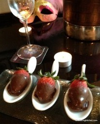 Specialty Sweet Treats: Chocolate Covered Strawberries filled with Berry Cream | Food from around the world | Scoop.it