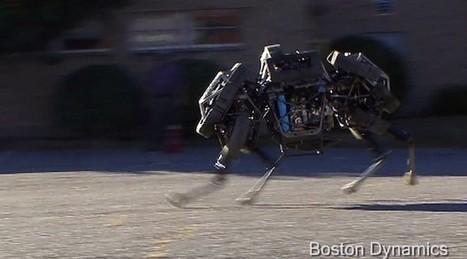 WildCat : le nouveau robot à quatre pattes de Boston Dynamics (vidéo) | Remembering tomorrow | Scoop.it