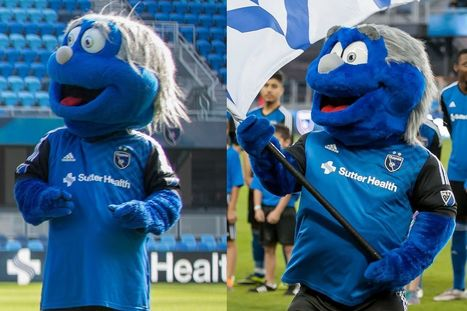 San Jose Earthquakes mascot undergoes extreme makeover ahead of 2016 MLS season | Mascots | Scoop.it