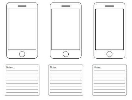 Free Printable Sketching, Wireframing and Note-Taking PDF Templates | Smashing Magazine | printable magazine templates | Scoop.it