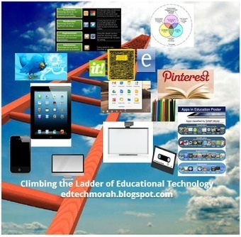 Climbing the Ladder of Educational Technology: How High Are You Climbing the Ladder of Educational Technology? | Technology | Scoop.it