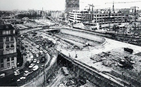1960 - La construction du périphérique. | GenealoNet | Scoop.it