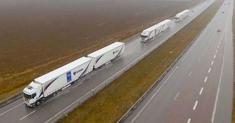 These Autonomous Trucks Drove 2,000 KM Across Europe | Post-Sapiens, les êtres technologiques | Scoop.it