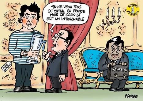 Florange: Hollande reçoit Mittal à l'Élysée - Soyons sérieux | Le monde est flou | Scoop.it
