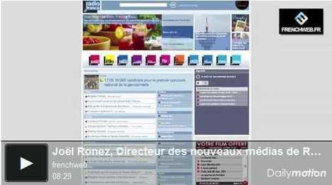 [Vidéo] La nouvelle politique numérique de Radio France | FrenchWeb.fr | Radio 2.0 (En & Fr) | Scoop.it