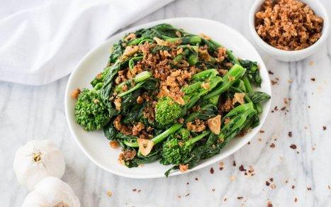 Spicy Garlicky Broccoli Rabe With Chili Breadcrumbs [Vegan] | Vegan Food | Scoop.it