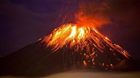 El Tungurahua entra en erupción | CTMA | Scoop.it