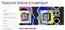 Teaching Digital Citizenship: Free Online Resource | Inter-tech Education | Digital Citizenship | Scoop.it
