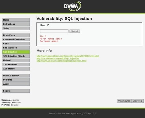 SQL Injection Analysis - InfoSec Resources | For a best consideration of Cybersecurity challenges in Africa | Scoop.it