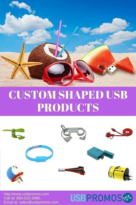 Custom Shaped USB Products   Social Media   Scoop.it