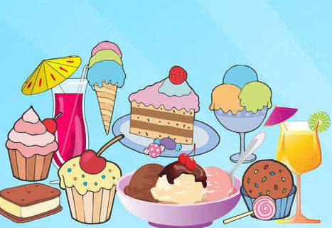 Les desserts? Miam-Miam! Approche sensorielle. Diverses activités | FLE enfants | Scoop.it