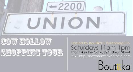 Shopping Tour | Boutiika + Ryzenberg on Cow Hollow Shopping Tour | San Francisco | Around Town | Scoop.it
