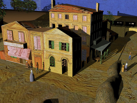 Artist Brings Van Gogh Paintings To Life With 3D Animation And Visual Mapping | The Creators Project | AP HUMAN GEOGRAPHY DIGITAL  STUDY: MIKE BUSARELLO | Scoop.it