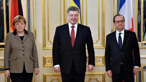 Conflit en Ukraine : Merkel et Hollande sont arrivés à Moscou   Russie et géographie   Scoop.it