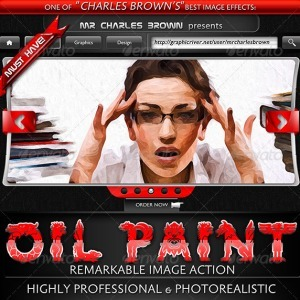 Oil Painting Photoshop Action Premium (Photo-Effects) | Actions for Photoshop | Daily Magazine | Scoop.it