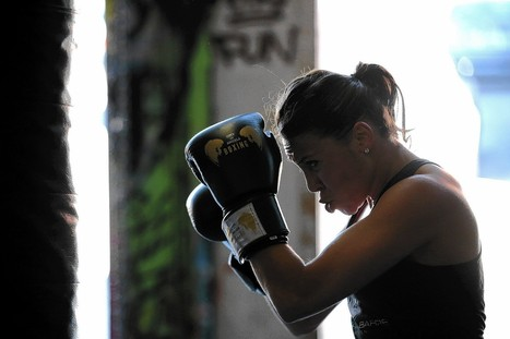 Want to work the whole body? Knock yourself out with boxing lessons - Los Angeles Times | Personal Training | Scoop.it