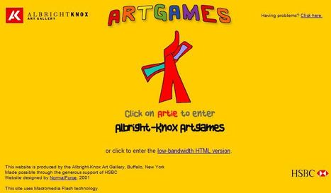 Welcome to Albright-Knox Artgames! | EDUCACIÓN 3.0 - EDUCATION 3.0 | Scoop.it