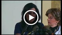 """Twin sister of """"Tampa socialite"""" Jill Kelley, involved in Petraeus scandal, has press conference with Gloria Allred 