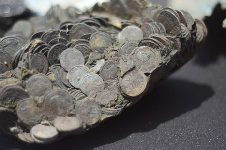Shipwreck yields ancient coin bounty | ScubaObsessed | Scoop.it