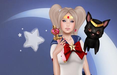 #54. Lovely Princess Moon - Bouquet of lilies ❀ Second life | Estee' Lauder Double wear concealer | Scoop.it