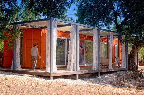 nomad living by studio arte is a shipping container retreat | Indústrias Criativas | Scoop.it