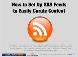Using RSS Feeds for Content Curation | Curating the World of Content | Scoop.it