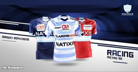 Top 14 : Les nouveaux maillots du Racing Métro dévoilés | Maillot de Sport | Scoop.it