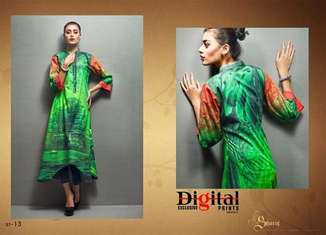 Digital Prints Winter Collection Vol 2 For women By Shariq Textile   smartinstep.com   Scoop.it