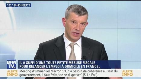 La France renoue avec l'emploi à domicile | L'actualité des métiers et emplois à domicile. | Scoop.it