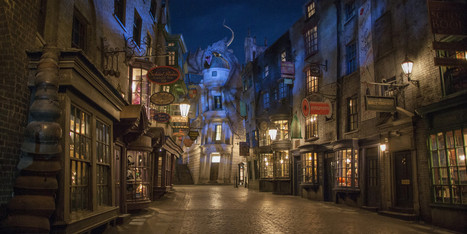 Real-Life Diagon Alley Is A Harry Potter Nerd's Dream Come True | Tourism Storytelling, Social Media and Mobile | Scoop.it