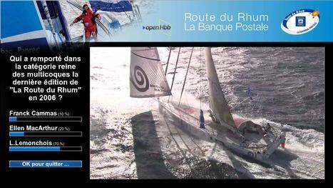 WizTiVi et la OpenHbb sur la Route du Rhum | HbbTV | Scoop.it