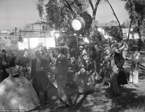 Never before seen photographs offer a rare glimpse behind the scenes of Gone with the Wind | What's new in Visual Communication? | Scoop.it