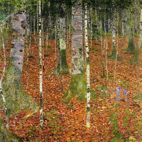 Boerderij Met Berken Bomen 1903 - Olieverfschilderijen | Landscapes oil paintings | Scoop.it