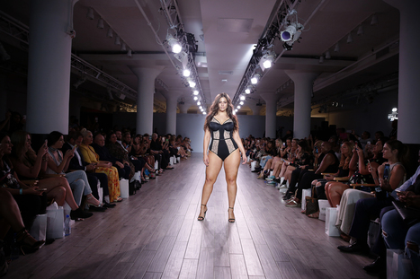 A look at Ashley Graham's gorgeous lingerie line at NYFW | Lingerie | Scoop.it