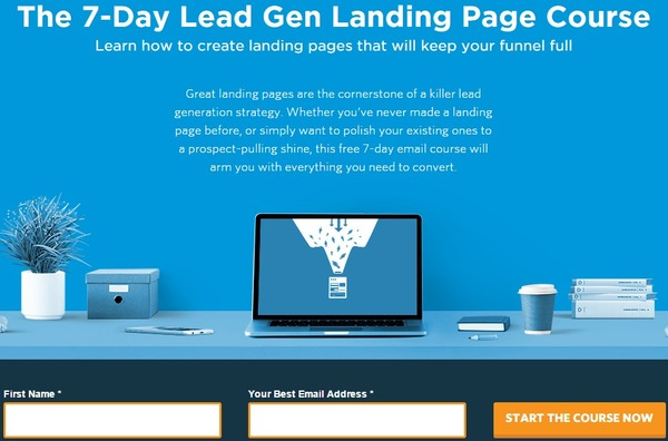 The 7-Day Lead Gen Landing Page Course - Unbounce | The Marketing Technology Alert | Scoop.it