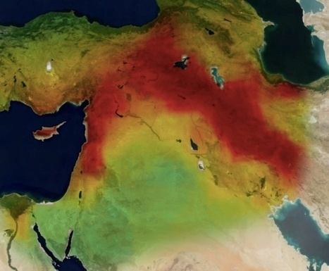 The Middle East Lost a Dead Sea-Size Amount of Water in 7 Years | Sinica Geography 400 | Scoop.it