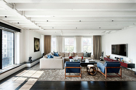 Laight Street Loft by David Howell Design | Home Adore | Architecture and interiors i love | Scoop.it
