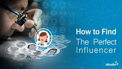 Influencer Marketing: The Simple 3 Step Process for Finding the Perfect Influencer | Content Marketing & Content Strategy | Scoop.it