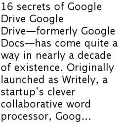 16 secrets of Google Drive | Google and educators | Scoop.it