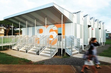 Energy Positive Relocatable Classroom / Anderson Anderson Architecture | sustainable architecture | Scoop.it