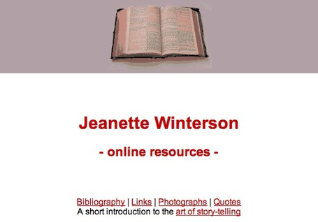 Jeanette Winterson | Voices in the Feminine - Digital Delights | Scoop.it