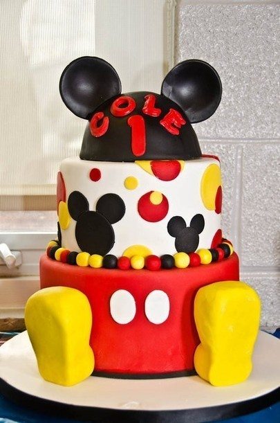 Mickey Cake | Disney Baking Recipes | Scoop.it