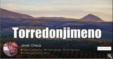 Javier Checa promociona en las redes sociales Torredonjimeno a todos los niveles - Diario Torredonjimeno - Toda la Actualidad Tosiriana | Marketing turístico-Turismo 20 | Scoop.it