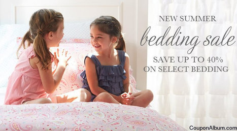 Pottery Barn Kids Coupon: Up To 40% Off Bedding | Coupons & Deals | Scoop.it