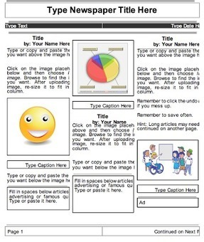 2 Beautiful Templates to Create Classroom Newspapers using Google Docs ~ Educational Technology and Mobile Learning | TEFL & Ed Tech | Scoop.it