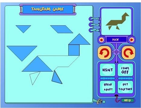 Tangram   Matemáticas: software libre e utilidades en internet   Scoop.it