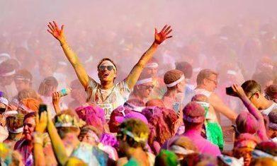 The Color Run: an American running phenomenon comes to Britain | Tout ce qui serait dommage de ne pas publier... | Scoop.it