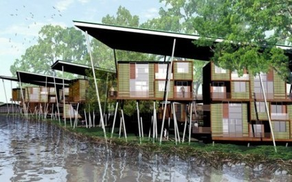 A++ Architects Design Sustainable Modular Lightweight Houses for Malaysia | sustainable architecture | Scoop.it