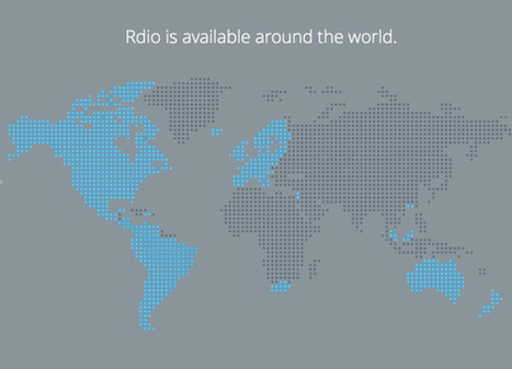 Rdio now available in 20 more countries | Culture & Entertainment - Digital Marketing | Scoop.it